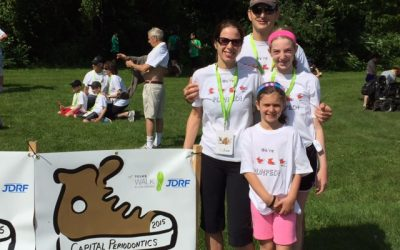 Dr. Shelemay & his family support the Juvenile Diabetes Research Foundation